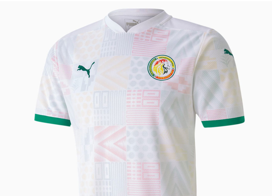 Senegal 2020-21 Puma Home Shirt #Senegal #pumafootball