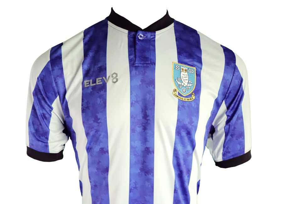 Sheffield Wednesday 2020-21 ELEV8 Home Kit #swfc #SheffieldWednesday