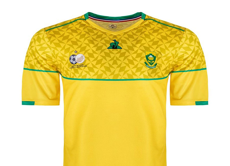 South Africa 2020-21 Le Coq Sportif Home Kit #BafanaBafana #SouthAfrica #LCSoccer