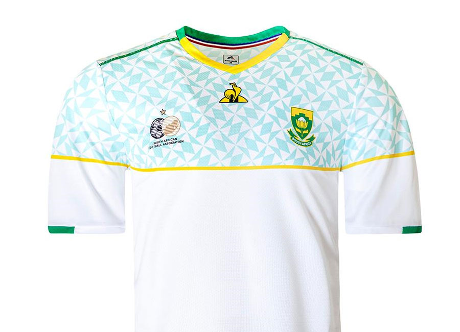 South Africa 2020-21 Le Coq Sportif Third Kit #BafanaBafana #SouthAfrica #LCSoccer