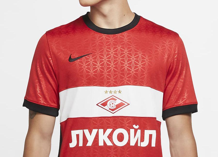 Spartak Moscow Nike Official Kids Football Burgundy Goal Keeping Shirt
