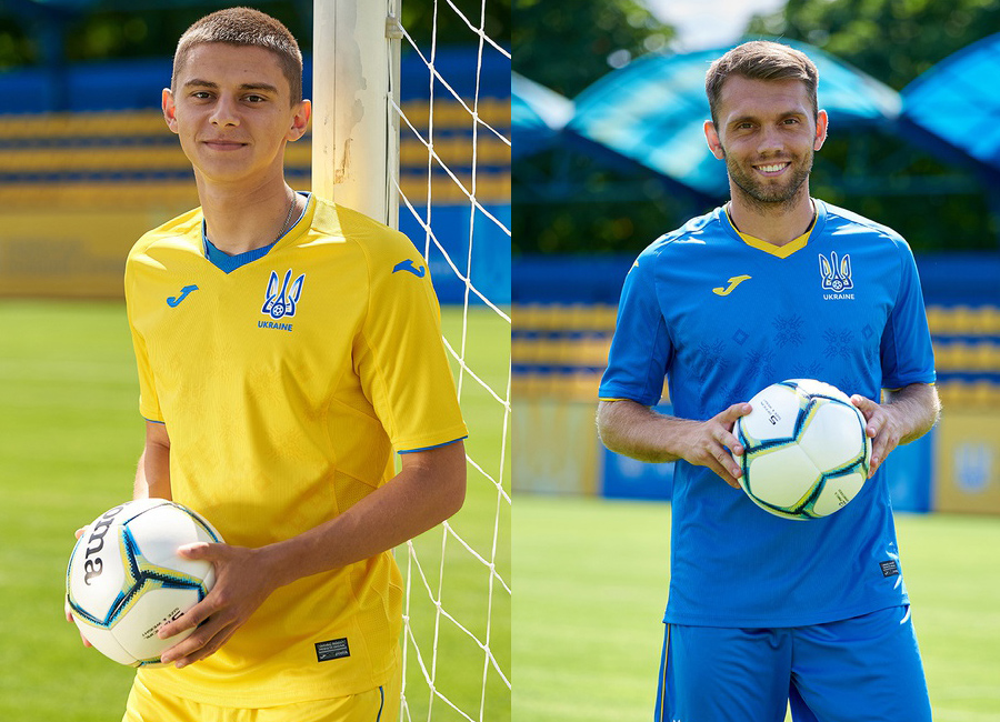 Ukraine 2020-21 Joma Home & Away Kits #МиЗбірна #ukraine #jomasport