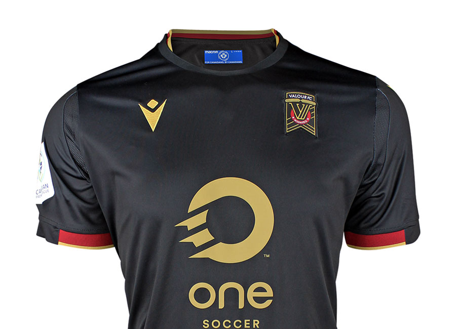 Valour FC 2020 Macron Away Kit #valourfc #ForValour #CanPL