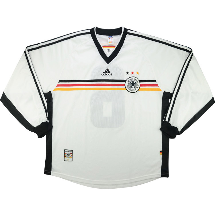 Germany 1998-00 Match Issue Home Shirt #dfb #matchworn #shirtcollector