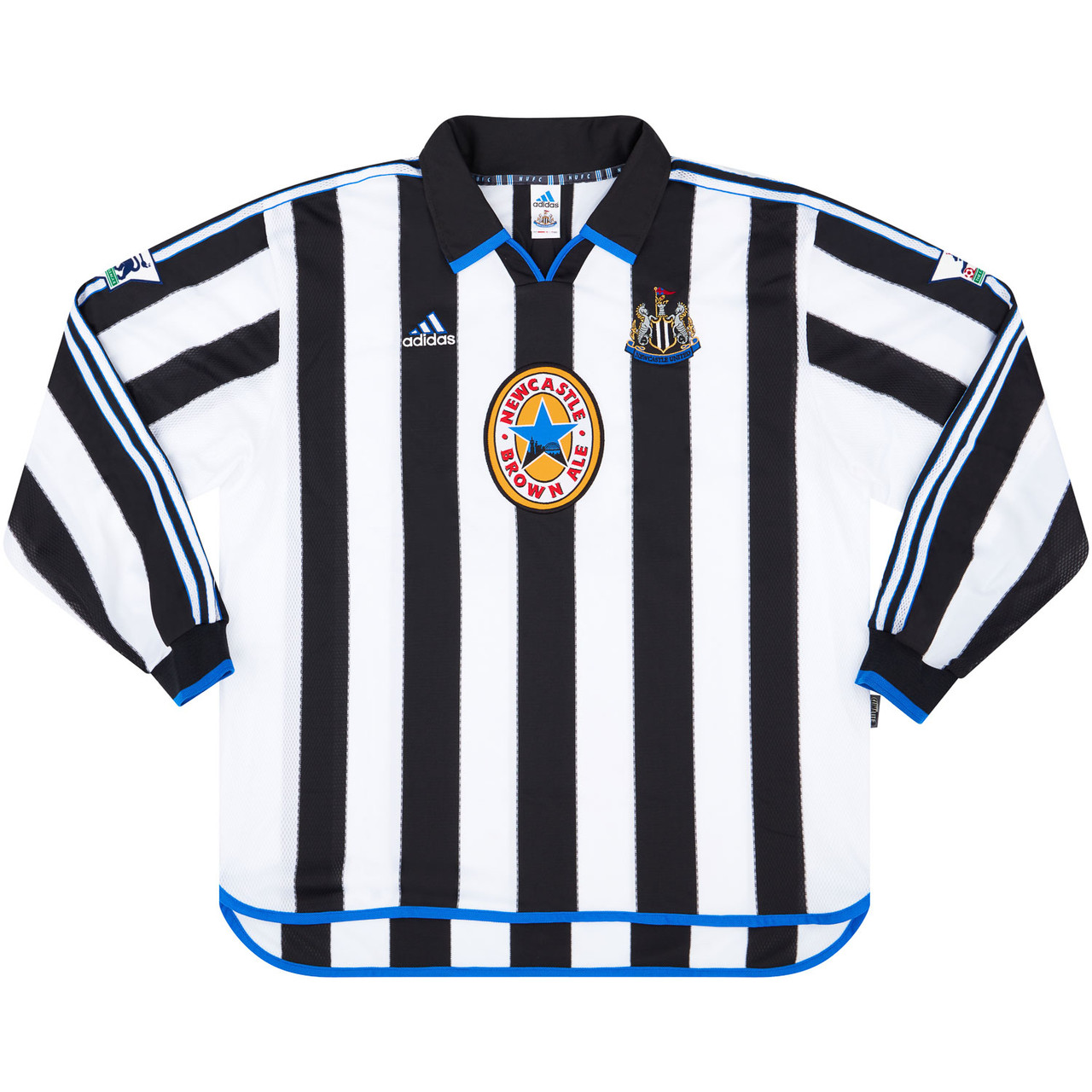 Newcastle United 1999-00 Match Issue Home Shirt #matchworn #nufc #NewcastleUnited #shirtcollector