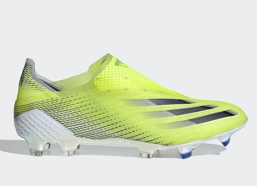 Adidas X Ghosted+ FG Superlative - Solar Yellow / Core Black / Royal Blue #adidasfootball #footballboots