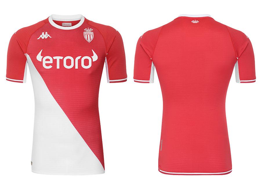 AS Monaco 2021-22 Kappa Home Shirt   21/22 Kits   Football shirt blog