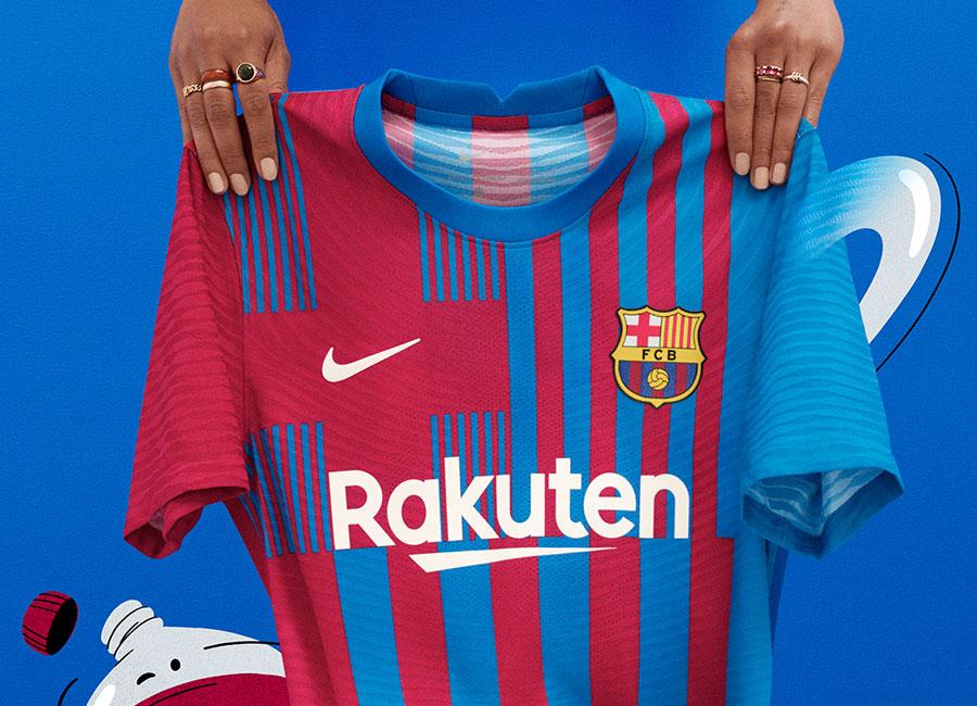 Barcelona 2021 22 Nike Home Kit 21 22 Kits Football Shirt Blog