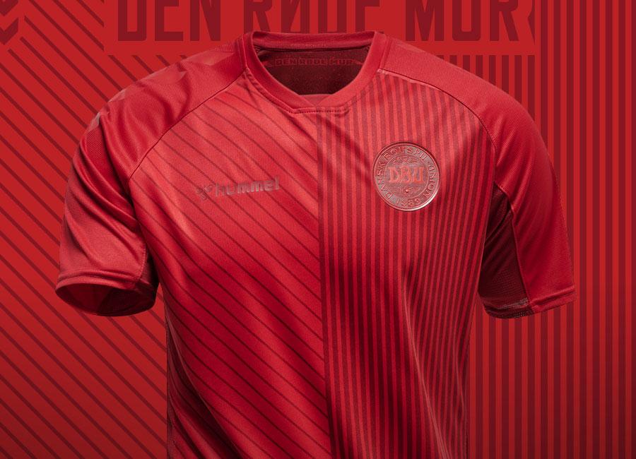 Denmark 2021-22 Hummel Third Shirt #Denmark #sharethegame #hummelsport #ForDanmark