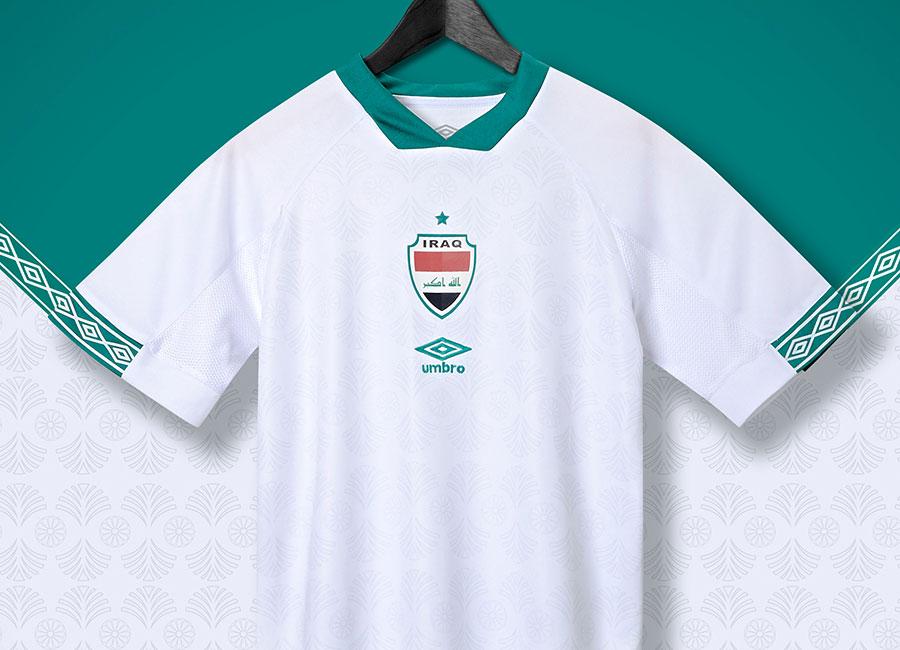 Iraq 2020-22 Umbro Away Shirt #Iraq #umbro