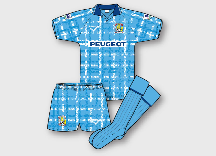 KITVOTE: Coventry City 1992-93 Home Kit #CoventryCity #ccfc #kitdesign