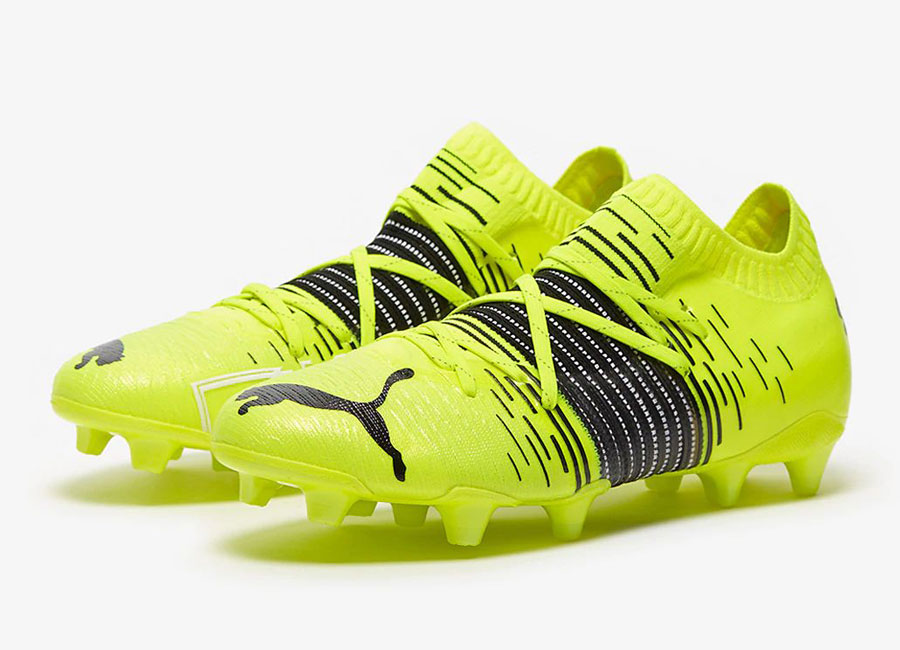 Puma Future Z 1.1 FG/AG Game On - Yellow Alert / Black / White #footballboots #pumafootball