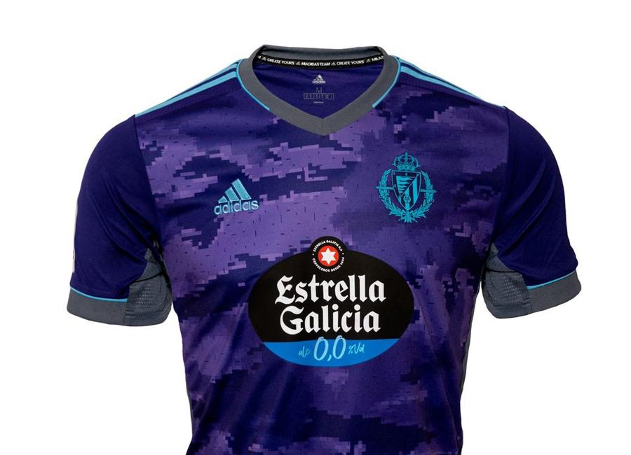 Real Valladolid 2021-22 Adidas Away Kit   21/22 Kits   Football ...