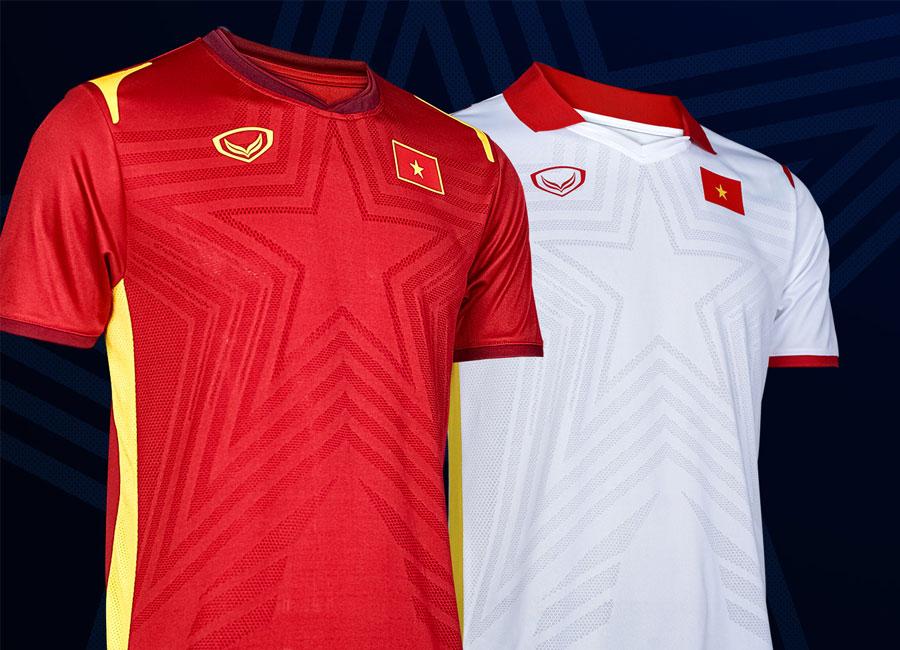 Vietnam 2021 Grand Sport Home and Away Shirts   20/21 Kits ...