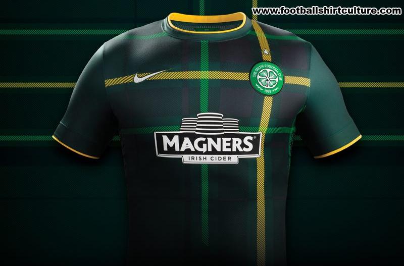 wholesale dealer 2c8eb 57a8d Celtic 14/15 Nike Away Football Kit | 14/15 Kits | Football ...