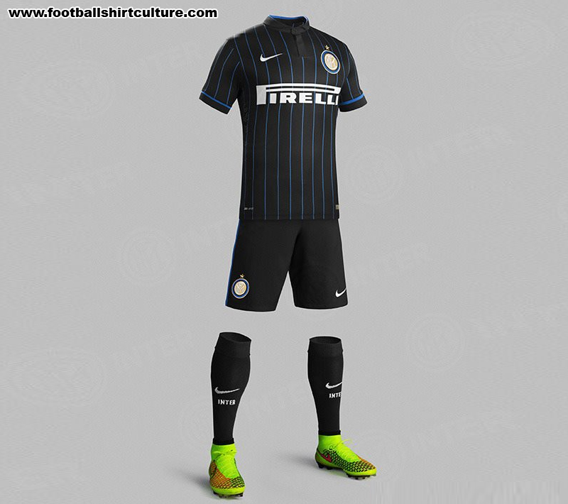 pretty nice c6d46 1b2cf Inter Milan 14/15 Nike Home Football Kit | 14/15 Kits ...