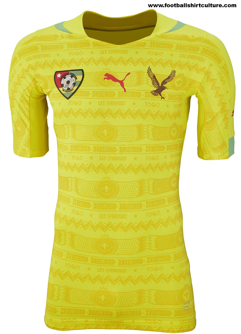Togo-2014-Puma-Home-Football-Shirt-Kit-1
