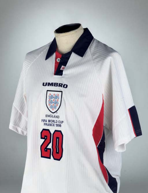 Christie s  100 Football Shirts at auction 3 April 2007  2473a4d92