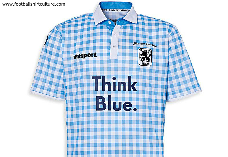 1860 Munich 2014 Oktoberfest Uhlsport Football Shirt