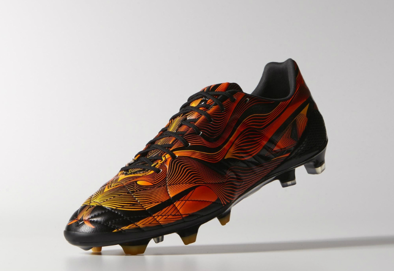 Adidas 11 Pro Crazylight Fg Boots Core Black Solar Gold Solar Red