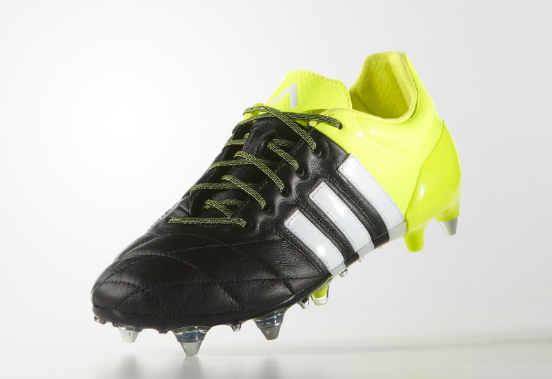 Adidas Ace15 1 Sg Boots Core Black White Solar Yellow