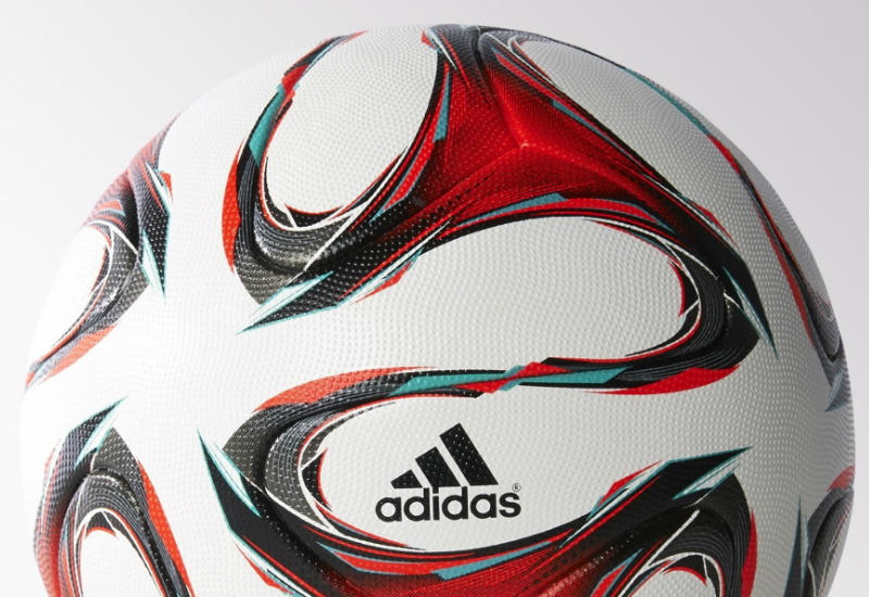 Adidas Dfb Official Match Ball White Solar Red Vivid Mint Bl