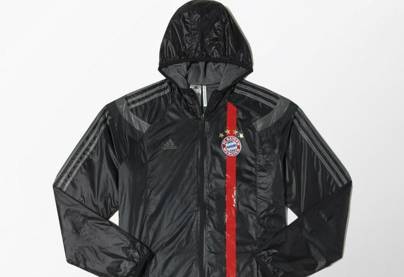Adidas FC Bayern Munchen Anthem Third Jacket Black Dark