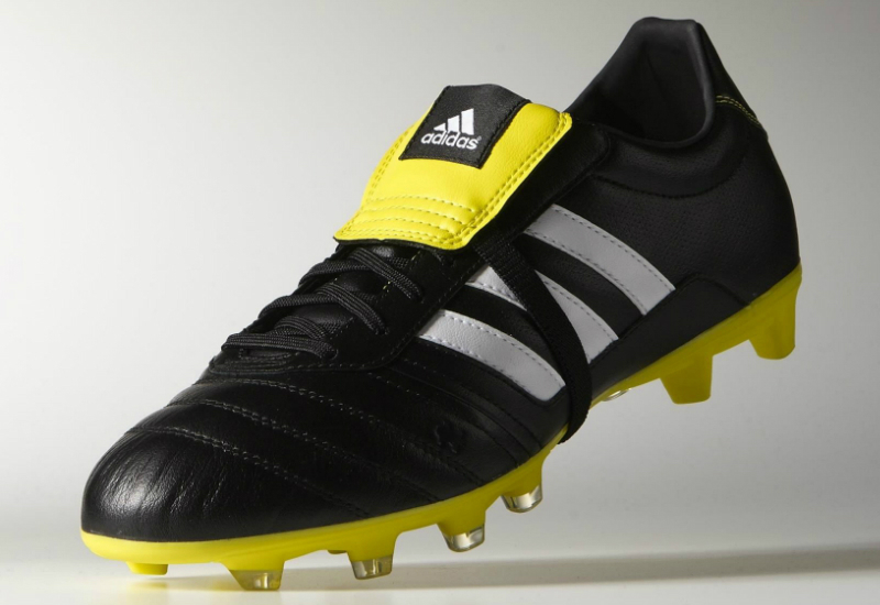 Adidas Gloro Football Boots Core Black Ftwr White Bright Yellow