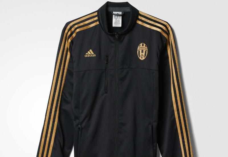 fab652560 Adidas Juventus Anthem Third Jacket - Black   Dark Football Gold ...