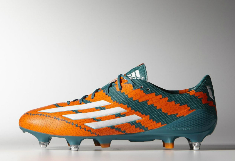 Adidas Messi 10 1 Sg Boots Power Teal F14 Ftwr White Solar Orange