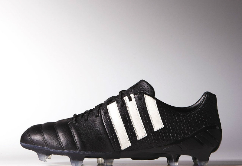 Adidas Nitrocharge 1 K Leather Boots Pure Leather Pack Core Black Chalk White Gold Met