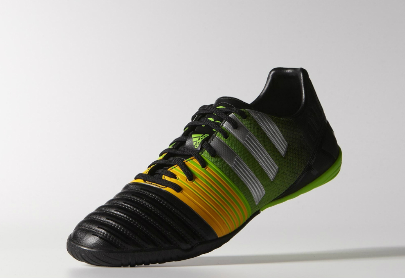 Adidas Nitrocharge 3 In Shoes Core Black Silver Metallic Solar Gold