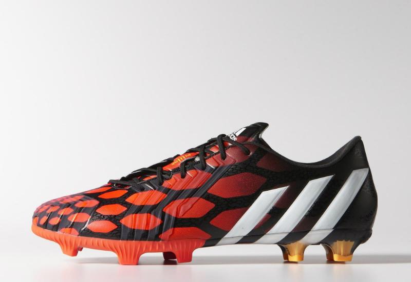 adidas predator istinto fg stivali nero / bianco / nucleo centrale solare