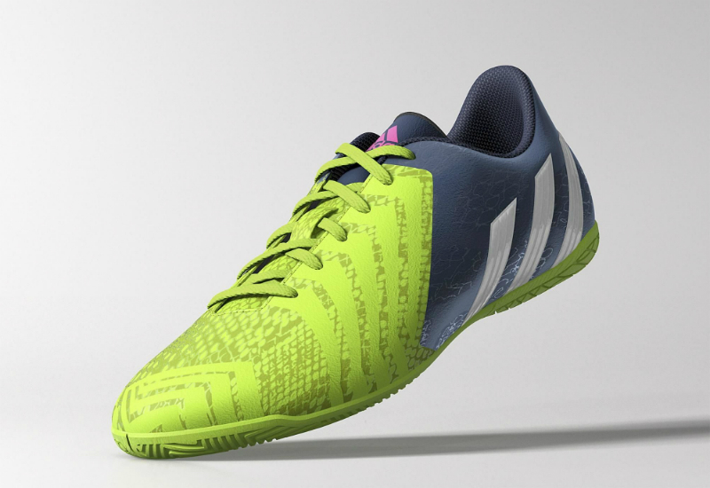 25885c52949 Adidas Predito LZ IN Supernatural Shoes - Rich Blue   Core White   Solar  Green