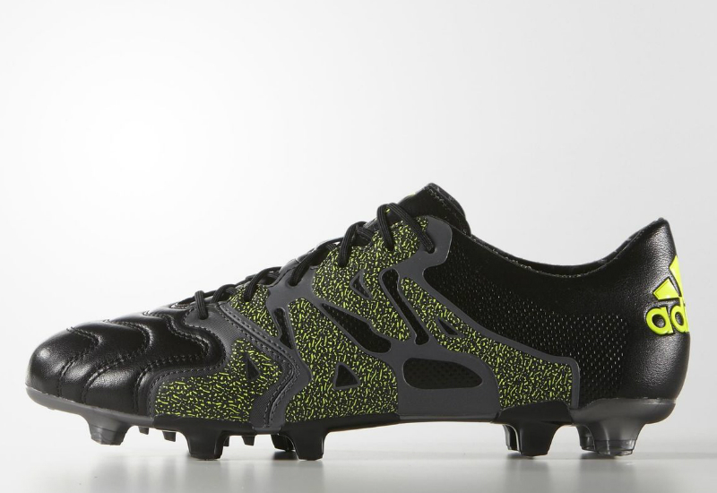 Adidas X 15 1 Firm Artificial Ground Boots Core Black Night Met Solar Yellow