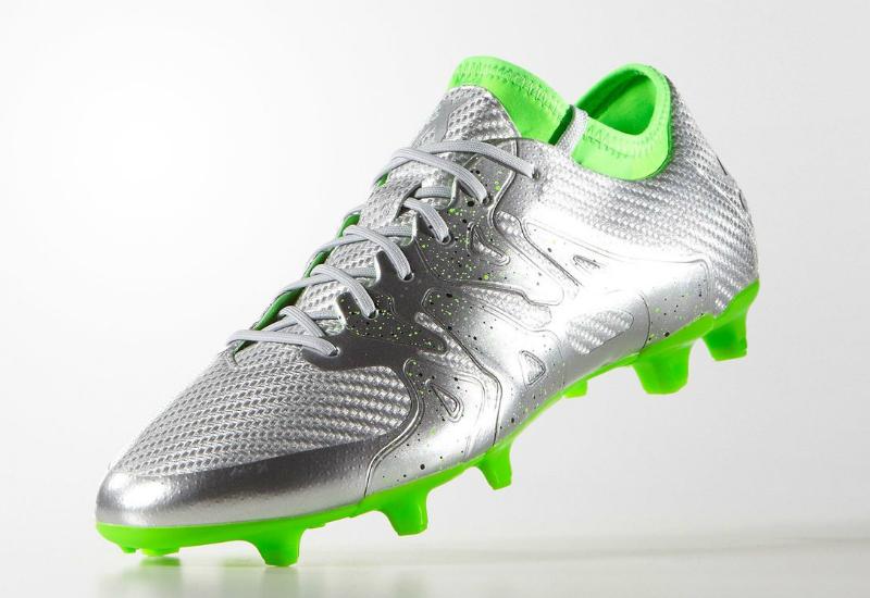 watch ed016 b2e36 Adidas X15.1 Eskolaite Firm Ground Boots - Silver Met ...