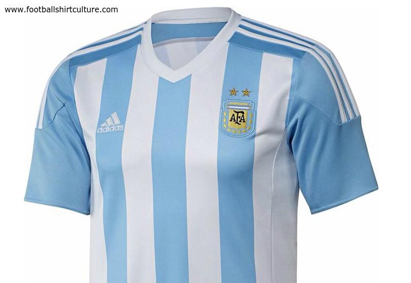 58a273cd2 Argentina 2015 Adidas Home Football Shirt