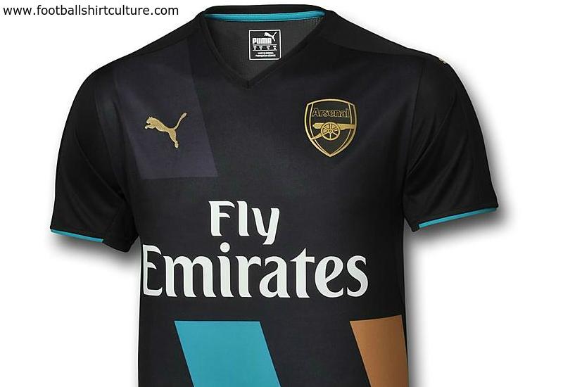 470cdde5611 Arsenal 15/16 Puma Third Kit | 15/16 Kits | Football shirt blog