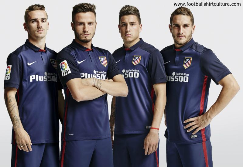 30b7124d1 Atletico Madrid 15 16 Nike Away Football Shirt