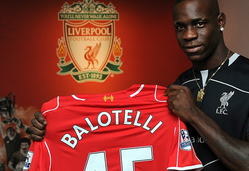 Balotelli Liverpool Shirt
