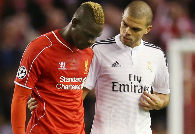 Balotelli Shirt Swap