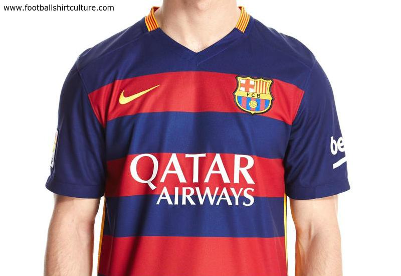 new style 33f28 dc3cb Barcelona 15/16 Nike home Football Shirt | 15/16 Kits ...