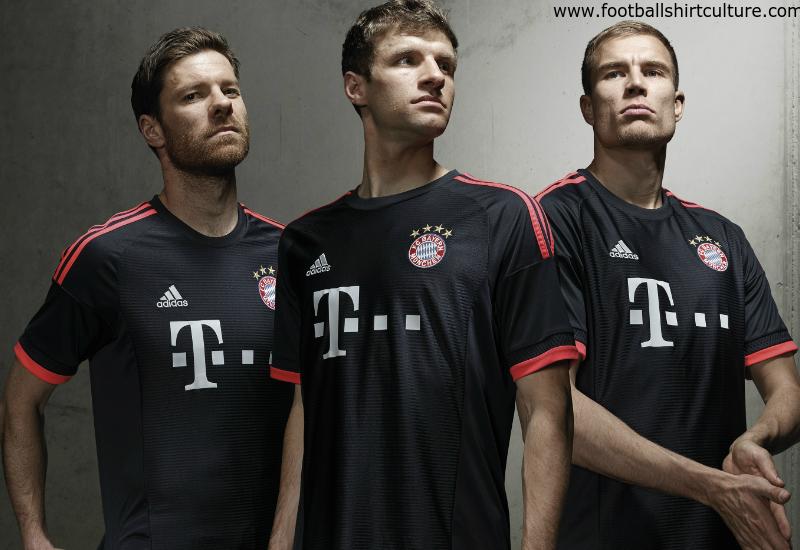 pretty nice 6d7d8 4e43e Bayern Munich 15/16 Adidas Third Kit   15/16 Kits   Football ...