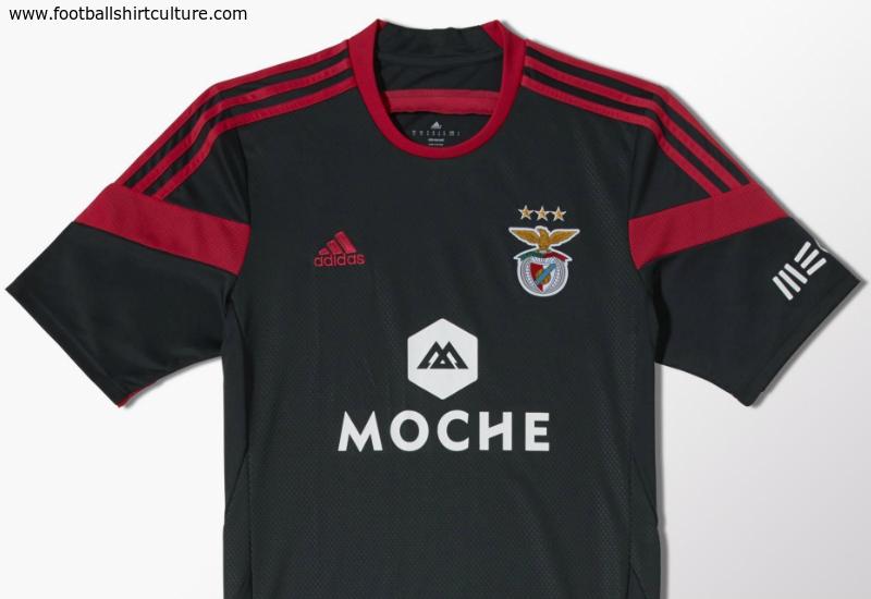 58e4a303fc3 Benfica 2014 2015 Adidas Away Football Shirt Kit