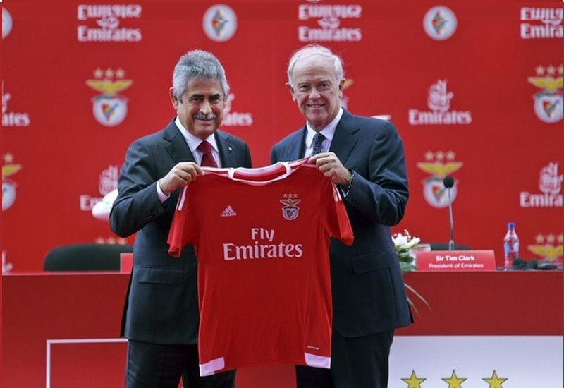 Benfica Sign Emirates Shirt Sponsorship Deal