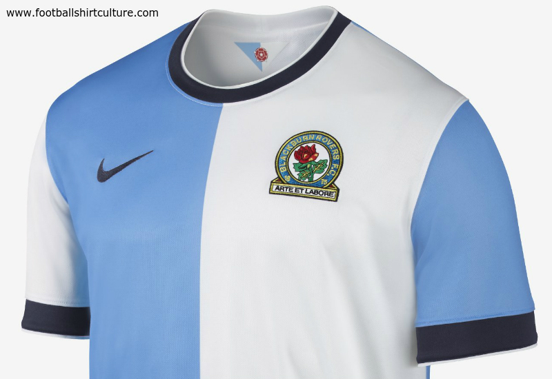 Blackburn Rovers 2014 15 Nike Home Football Shirt