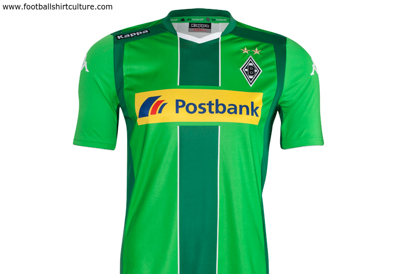 Borussia Munchengladbach 2014 15 Kappa Away Football Shirt