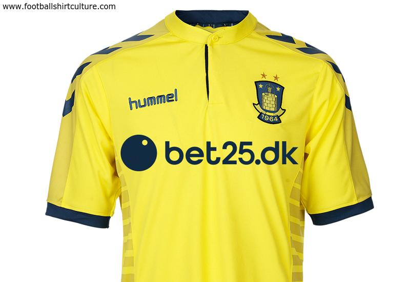 b8c73b3d8 Brondby 2015 Hummel Home Football Shirt