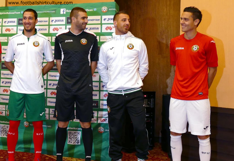 8b66a1572 Bulgaria 14/15 Joma Home & Away Kits | 14/15 Kits | Football shirt blog