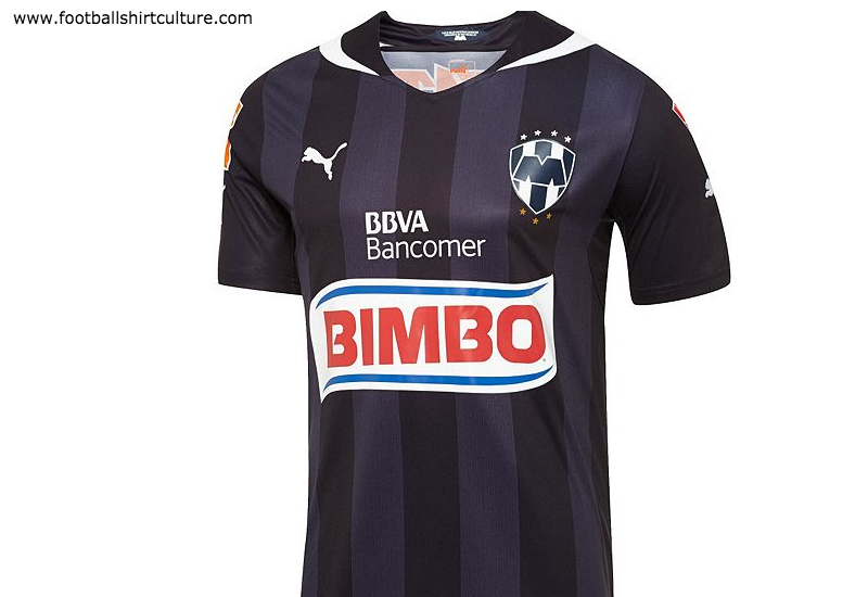 Cf Monterrey 2014 2015 Away Puma Football Shirt